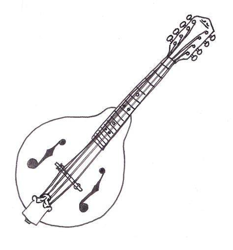 mandolin drawing    ayoqq cliparts