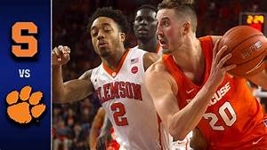 Syracuse vs. Clemson Men's Basketball Highlights (2016-17 ...