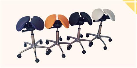 chaise de bureau pour le dos une chaise en selle pour un dos bien droit le coin forme