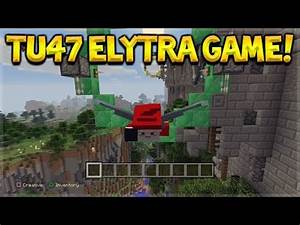 Minecraft Xbox 360 PS3 Title Update 47 NEW Elytra