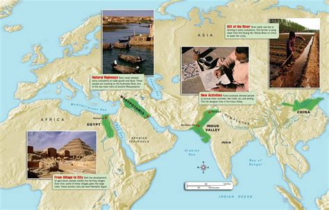 The Earliest Civilizations Emerged In A.) Egypt Along The