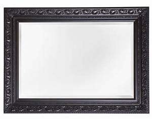 Spiegel Mit Schwarzem Rahmen : savona spiegel mit schwarzem barock rahmen ~ Buech-reservation.com Haus und Dekorationen