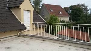 Garde Corps Terrasse Acier Pour Mme V Champigny Sur Marne
