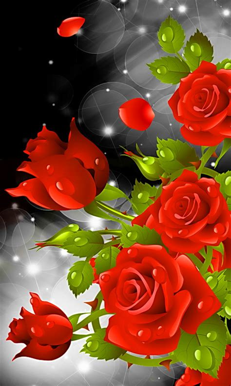 red rose party  wallpaper amazoncouk appstore
