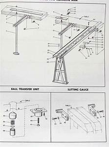 Lodge  U0026 Shipley Power Squaring Shears Parts Manual