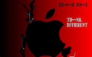 Death Note Apple Wallpaper by roxasissomebody on DeviantArt