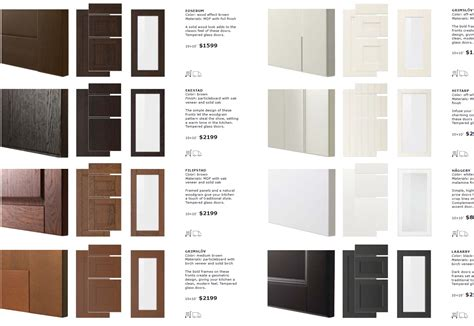 cabinet door styles names a close look at ikea sektion cabinet doors