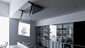 Hotte De Cuisine Design : hotte lot pratique et convivial pour une cuisine moderne ~ Premium-room.com Idées de Décoration