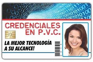 Credenciales De Pvc Solido 300dpi 4x1 Tintas $ 20 00 en Mercado Libre