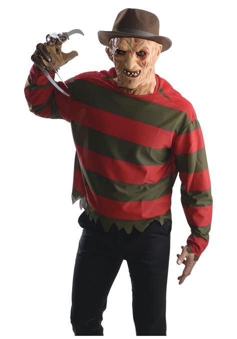 Animatronic Halloween Props Uk by Freddy Krueger Shirt W Mask