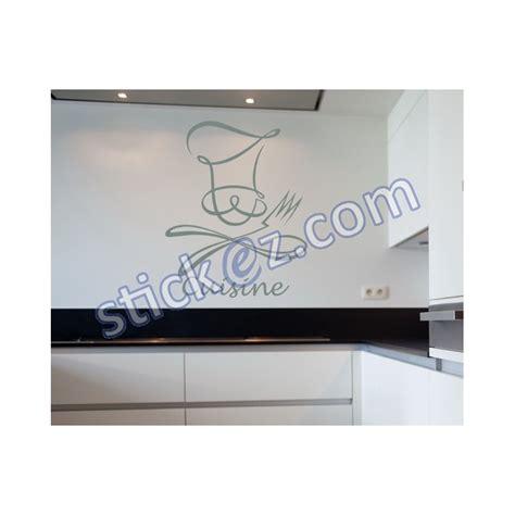 stickers ecriture pour cuisine sticker ustensiles écriture cuisine avec chapeau