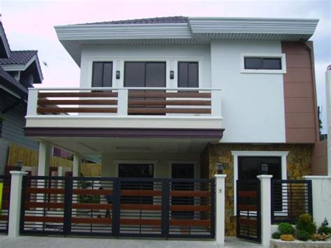 2 stories house design 2 storey house with balcony images 2 modern