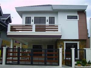 Design 2 Storey House with Balcony Images 2 Story Modern ...