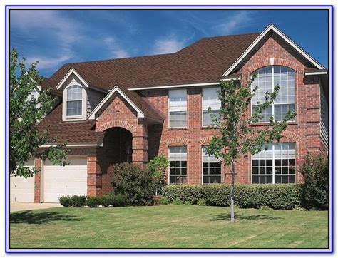 Exterior Paint Colors For Homes With Brick  Home Design Ideas