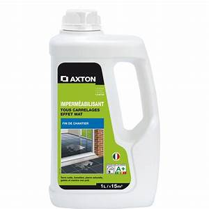 impermeabilisant hydrofuge tous supports axton 1l With imperméabilisant carrelage