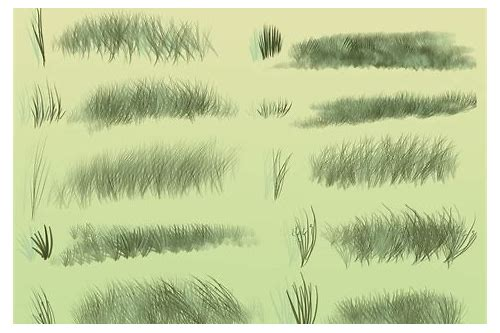 grass brush photoshop free download