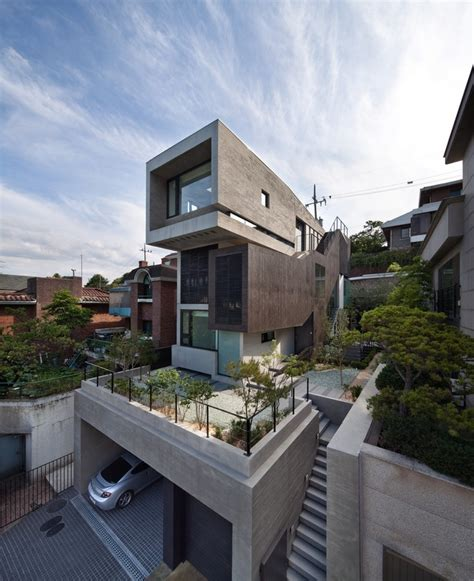 house south korean residence  architect