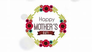 Happy Mother Day, Mom, Video Animation Stock Footage Video ...