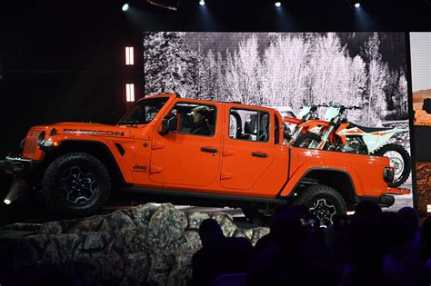 2020 jeep gladiator yellow jeep introduces gladiator truck to lineup news