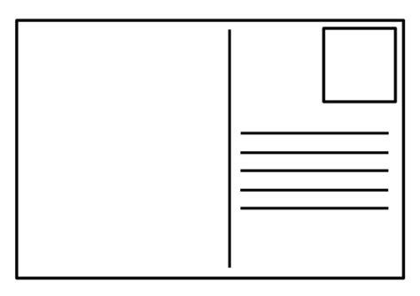 blank postcard template postcard template blank a4 landscape by gentleben teaching resources tes