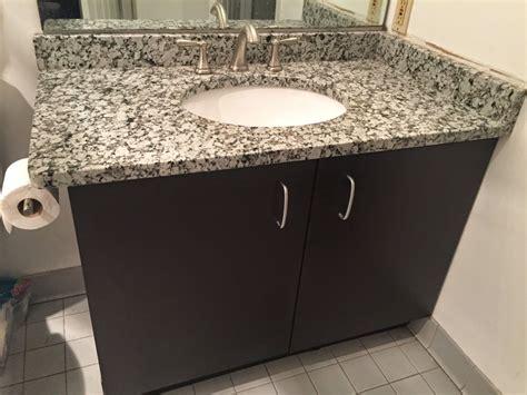 grey star granite bathroom vanity project pictures details