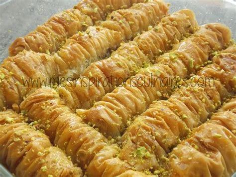 recette cuisine turc baklawa rolls chhiwat ramadan le cuisine de samar