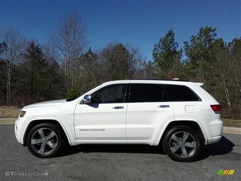 white jeep grand cherokee 2014 bright white jeep grand cherokee overland 4x4