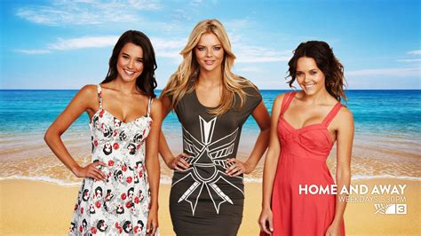 Home and Away Wallpapers | Home and away cast, Home and ...