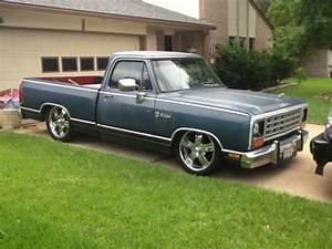 Sell New 1985 Dodge Ram 150 Royal Se V8 A  C All Powered Rat Rod In Houston  Texas  United States