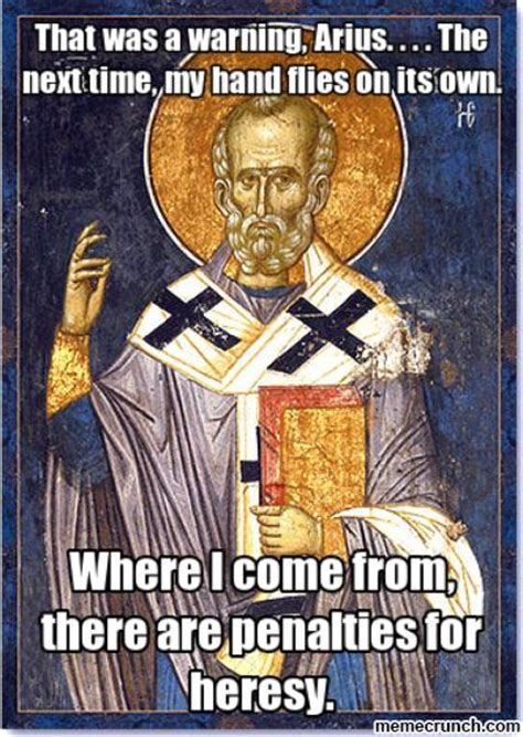 St Nicholas Meme - arius heresy related keywords suggestions arius heresy long tail keywords