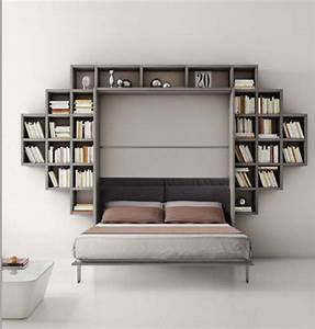 Armadio letto con libreria Formaflex Materassi Verona