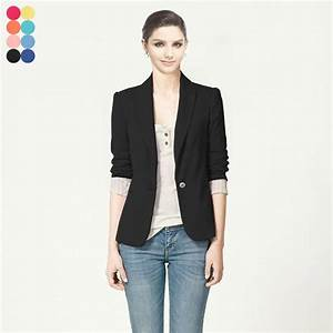 Casual Blazer Womens - Trendy Clothes