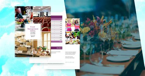 event management proposal template  sample proposify