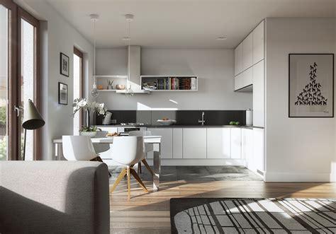Kitchen Design : Sleek Kitchen Designs With A Beautiful Simplicity