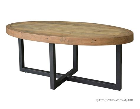 dining table woodenforge oval coffee table pgt reclaimed official