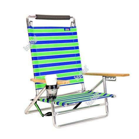 canopy beach chair  pos lay flat  seat aluminum