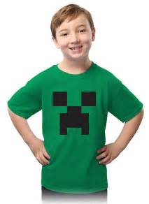 Creeper Minecraft Kids Tee