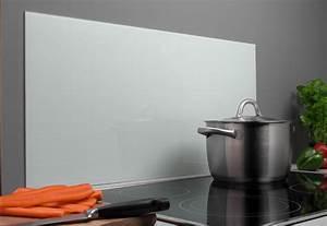 Wandverkleidung Für Küche : glastafel spritzschutz k che herd wei 80x40 ~ Michelbontemps.com Haus und Dekorationen
