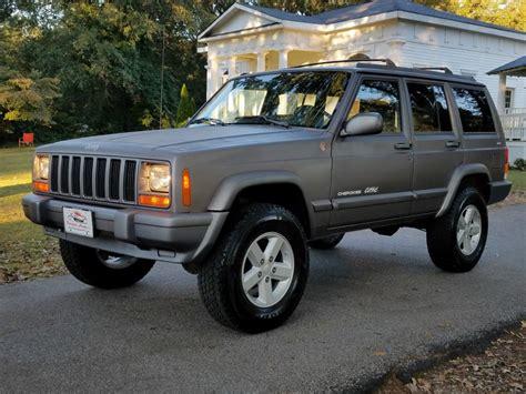 1998 Jeep Cherokee Classic XJ RARE 5 Speed Manual 4X4 4.0 ...