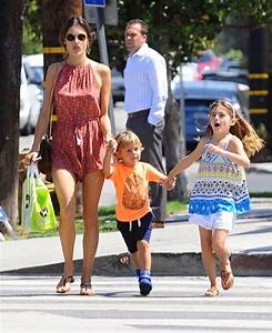 Alessandra Ambrosio Goes Shopping With Her Kids | Celeb ...