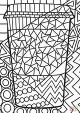 Pop Coloring Paper Pages Cup Printable Adult Saluki Egyptian Games Adults Drawing Culture Dot Styles Coloringgames sketch template