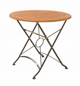 Runder Tisch 80 Cm Durchmesser : gartentisch klapptisch wien rund d 80 cm fsc eukalyptus ~ Bigdaddyawards.com Haus und Dekorationen