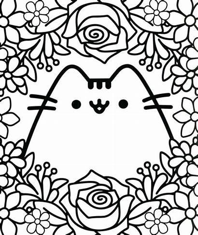 Coloring Kawaii Cat