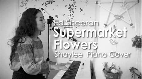 Supermarket Flowers (from Divide) Piano Cover