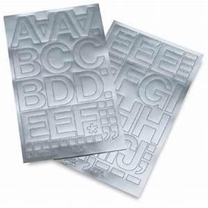 Amazoncom chartpak vinyl letters metallic silver 2 for Silver vinyl letters