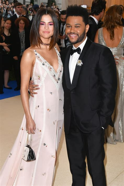 Selena Gomez and The Weeknd at the Met Gala 2017 ...