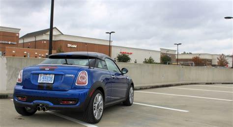mini cooper  coupe test drive