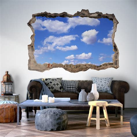 3d Wall Murals Wallpaper by 3d Wall Illusion Wallpaper Mural Photo Print A In The