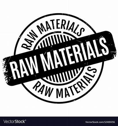 Raw Materials Vector Stamp Rubber Royalty Vectors