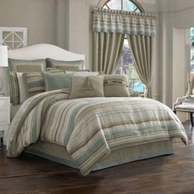 queen street nantucket  pc jacquard comforter